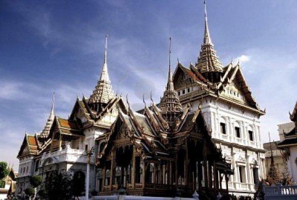 The royal place Wat Phra Kaew, Thailand