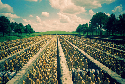 Terra Cotta Army, China