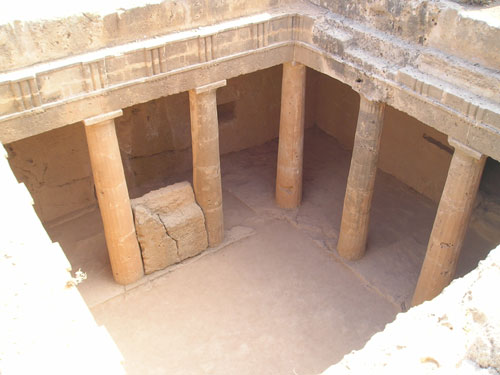 Tomb of Kings, Paphos, Cyprus