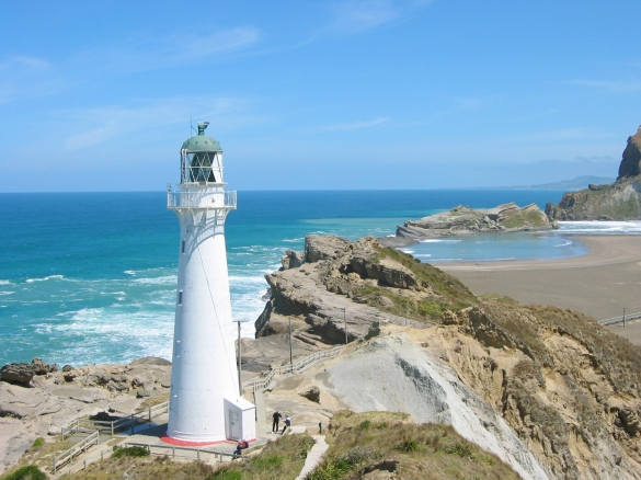 Castlepoint Lighthouse, Wellington,New Zealand