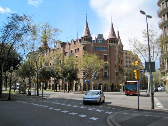 Casa Terrades o de les Punxes, Barcelona, Spain